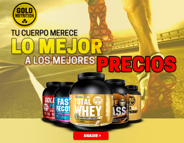 Fast Recovery Desde 19,99€, Gold Drink & Pre-Workout Explosive. Os Melhores Preços na Marca Gold Nutrition.